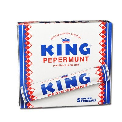 King pepermunt - Pfefferminze - 5 rollen a 44g