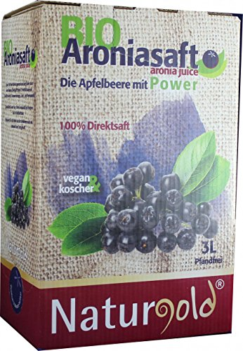 Bio Aroniasaft Direktsaft 3L Bag in Box - 2