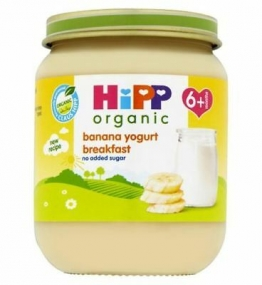 HiPP Organic Banana Yogurt Breakfast 6+ Months 125g