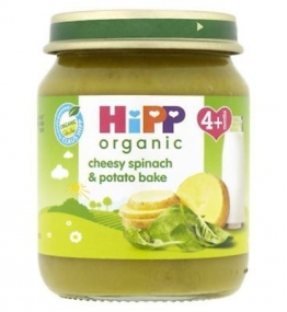 HiPP Organic Cheesy Spinach & Potato Bake 4+ Months 125g