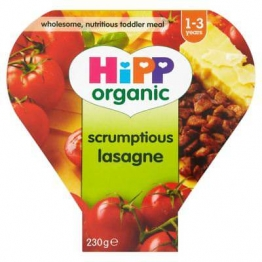 Hipp Organic Growing Up Meal Scrumptious Lasagne 12Mth+ (260g) (Pack of 6)