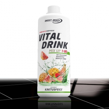 13,84€/Ltr. Best Body Nutrition Low Carb Vital Drink Sirup 1 Ltr. + Probeflasche