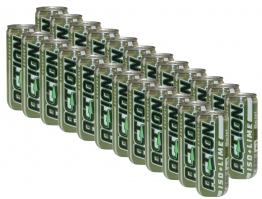 24x Action ISO Lime Drink inkl Pfand Energy isotonisches Sport Limette Getränk