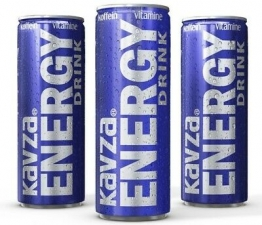2,63€/L) 24 x Dosen Kavza 250ml Energy Drink 0,25l Dose Energie Power Getränk