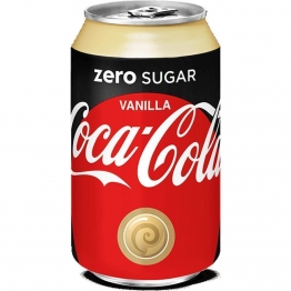 Coca-Cola Zero Sugar Vanilla 1 x 330 ml