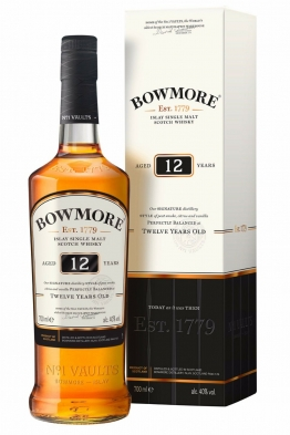 BOWMORE 12 Jahre | Islay Single Malt Whisky | 40,0% | 0,7 L