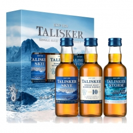 Talisker Multi-Pack 3-tlg. Skye Storm 10 Jahre Whisky Scotch Flasche 45.8% 50 ml