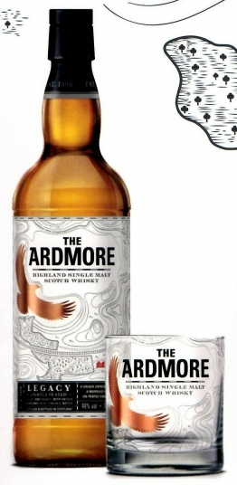 THE ARDMORE Highland Single Malt Scotch Whisky 40% Vol Limitierte Edition 0,7l