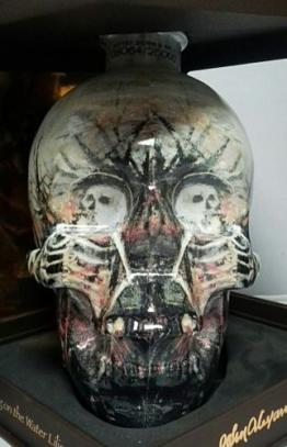 Wodka Crystal Head  John Alexander Artist Series 0,7L  Vodka